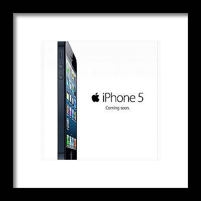 Iphone 5 Framed Prints