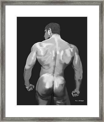 Rear Standing Framed Print by Tim Stringer