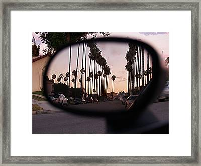 Rear View Framed Print by D Wash
