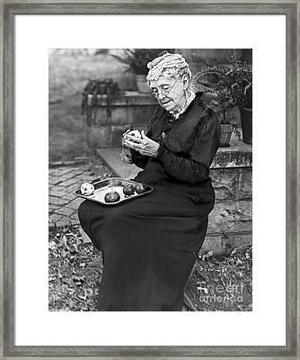 Rebecca Ann Felton Framed Print by Granger