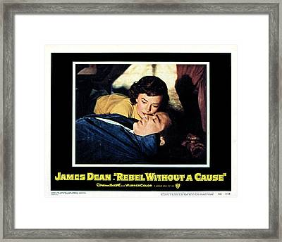Rebel Without A Cause, Natalie Wood Framed Print by Everett