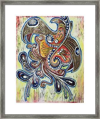 Rebirth 3 Framed Print