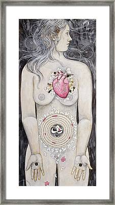 Framed Print featuring the painting Rebirth Of Venus by Sheri Howe