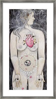 Rebirth Of Venus Framed Print