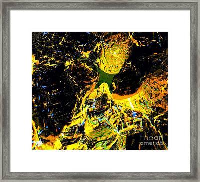 Rebuke - Don't Let The Devil Speak To You Framed Print