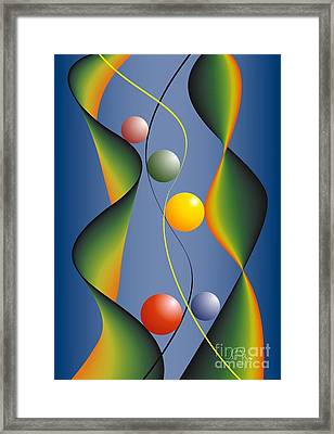 Framed Print featuring the digital art Rebus by Leo Symon