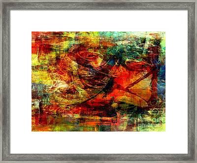 Recall - Rappel  Framed Print by Fania Simon