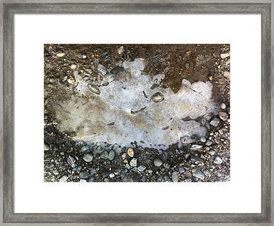 Recently Frozen In Time Framed Print by Elijah Brook