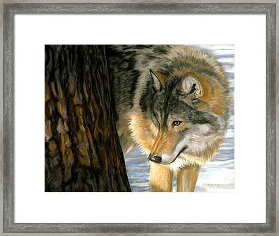 Framed Print featuring the painting Reclaiming The Wild by Sheri Gordon