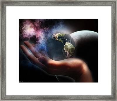 Reclamation Framed Print by Peter Chilelli