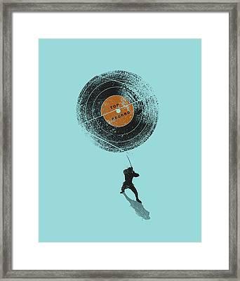 Record Breaker Framed Print