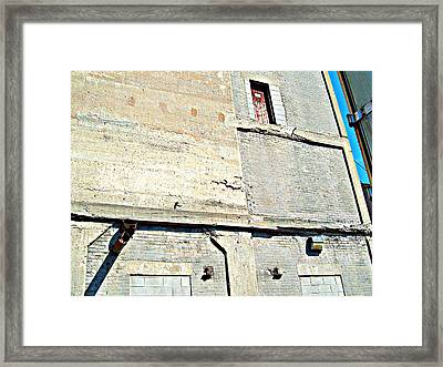 Framed Print featuring the photograph Rectangular by MJ Olsen