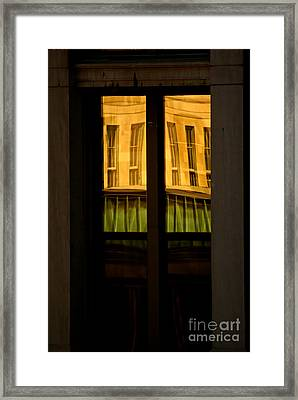 Rectangular Reflection Framed Print by Aimelle