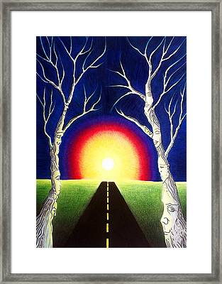 Recurring Dream Framed Print
