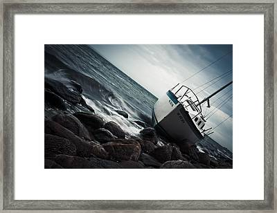 Recycled Framed Print by Ben Porway