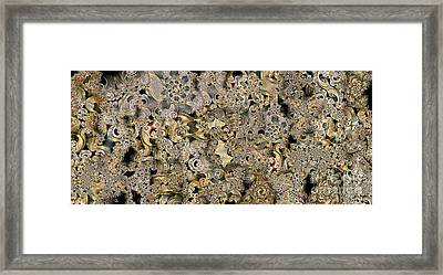 Recycled Framed Print