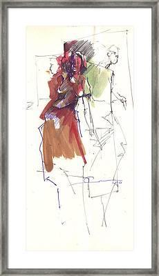 RED Framed Print by Ertan Aktas