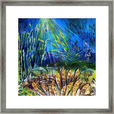 Red Eye Odyssey Framed Print