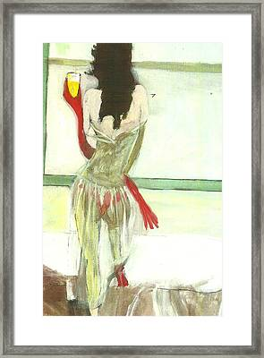 Red Gloves Red Shoes Red Throng 3d Framed Print by Harry WEISBURD