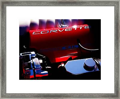 Red Hot Framed Print by Douglas Pittman
