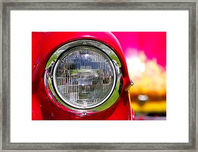 Red Hot Framed Print by Vicki Pelham