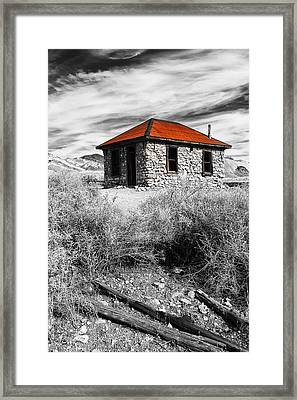 Red Light District Framed Print by James Marvin Phelps