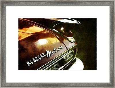 Red Mercury Meteor Framed Print
