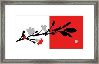 Red One Framed Print by Nomi Elboim