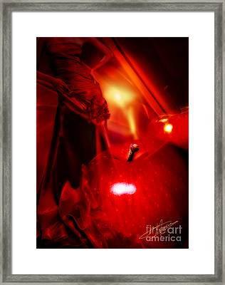 Red Passion Framed Print