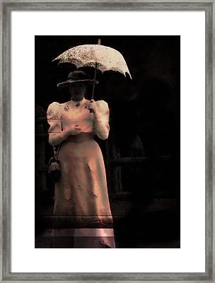 Red Rain  Framed Print