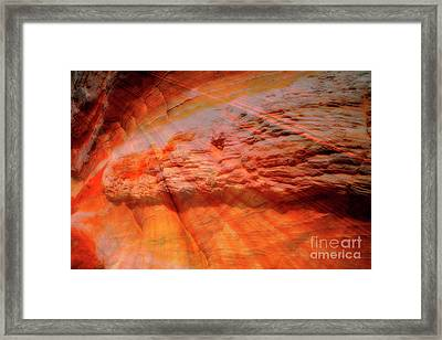 Red River Framed Print by Keith Kapple
