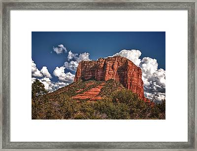 Red Rock Country Sedona Az Framed Print by James Bethanis