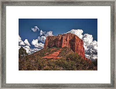 Red Rock Country Sedona Az Framed Print