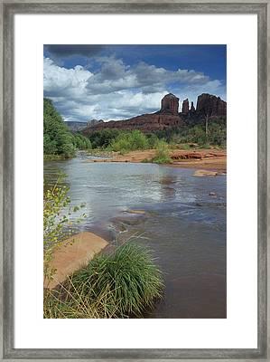 Red Rock Crossing In Sedona, Arizona Framed Print