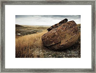 Red Rock I Framed Print
