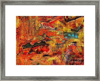 Red Rock Road Trip Framed Print