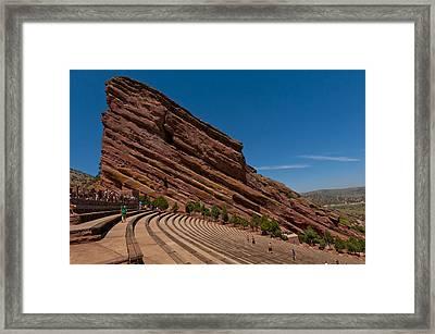 Red Rocks Amphitheater Framed Print by Jason Turuc