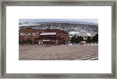 Red Rocks Amphitheatre Framed Print by Bill Kennedy