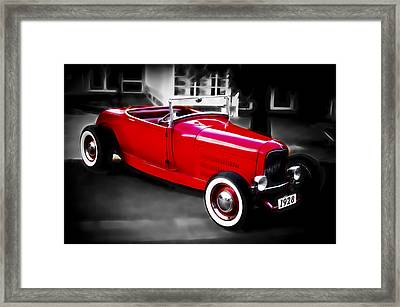 Red Rod Framed Print by Phil 'motography' Clark