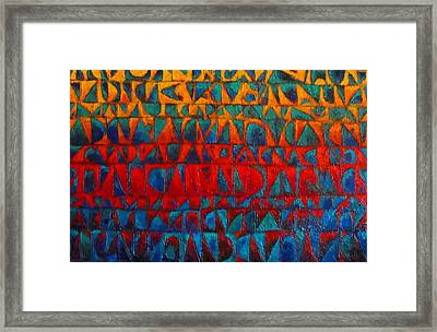 Red Sails At Sunset II Framed Print by Bernard Goodman
