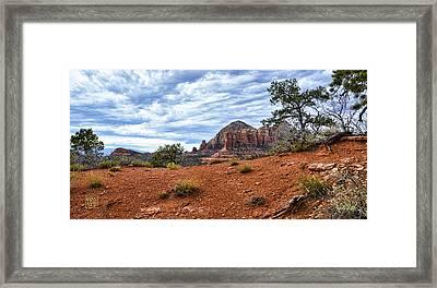 Red Sands Of Sedona Framed Print