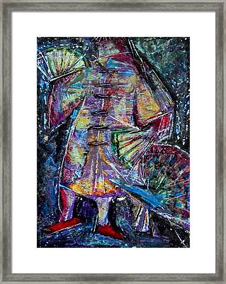 Red Shoes  Framed Print by Tammy Cantrell