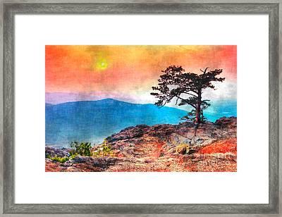 Red Sky Over Ravens Roost IIi Framed Print