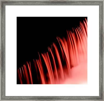 Red Veil  Framed Print