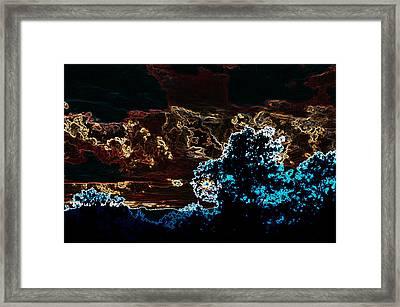 Red White An Blue Framed Print