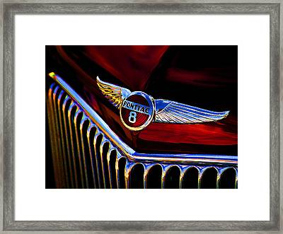 Red Wings Framed Print
