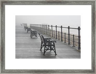 Redcar, North Yorkshire, England Framed Print by John Short