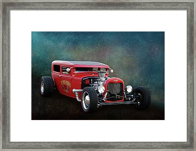 Framed Print featuring the photograph Redd Rod by Bill Dutting