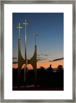 Redemption's Price Framed Print by Gene Sherrill