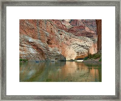 Redwall Approach  Framed Print